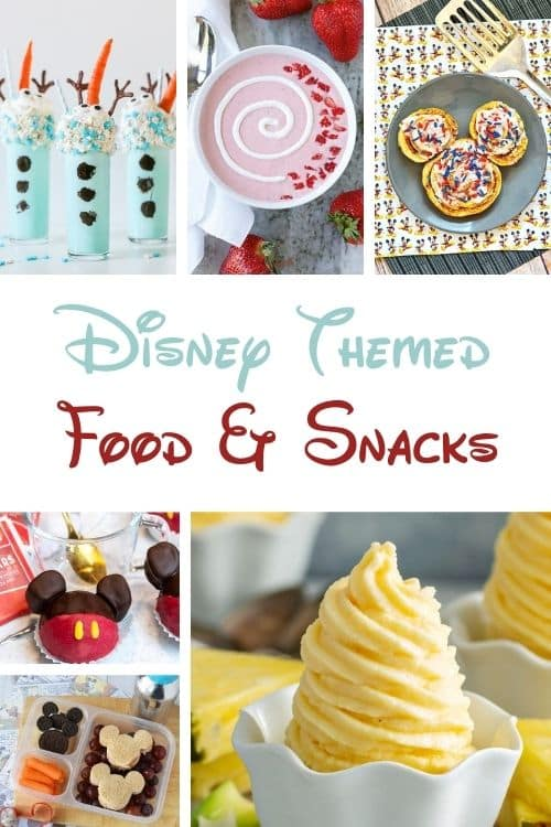 Get inspired with Disney themed food snacks for your party idea needs.