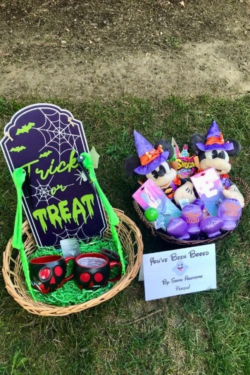You've been booed by some awesome people free printable boo baskets