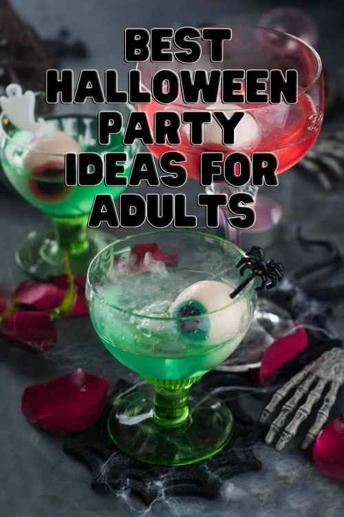 The best halloween party ideas for adults to have fun in October.