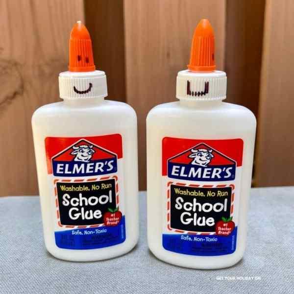 glue bottles hack for back to school.