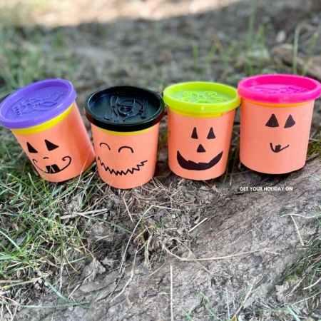 little pumpkin party favors