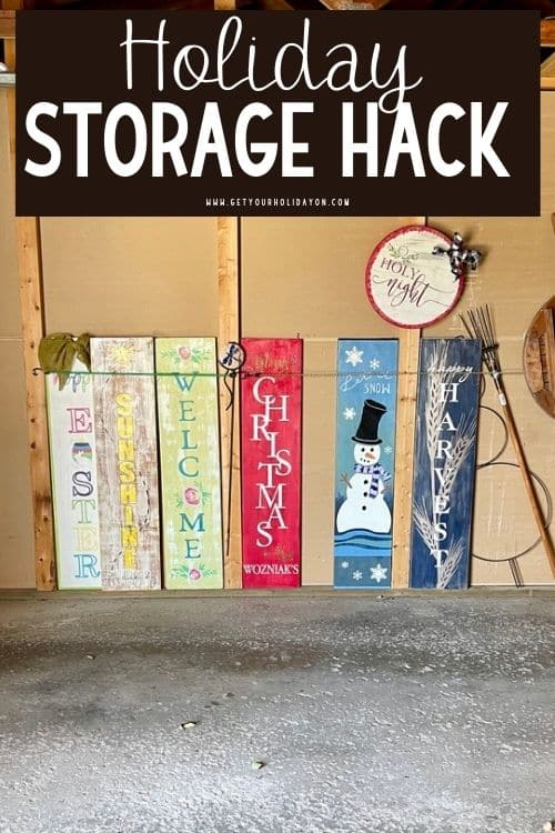 porch decoration storage hack