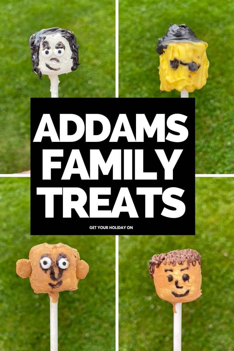 Addams family diy treats