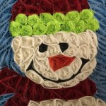 Quilled snowman by Kristen Brunton of Get Your Roll On Quilling