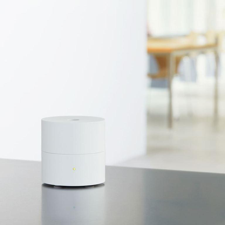 Fan diffuser Ko Wit is een geursysteem voor thuis van AT-AROMA   deurdesign