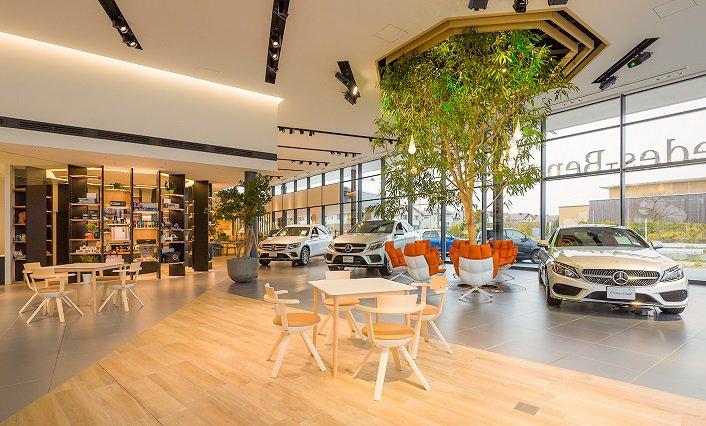 Mercedes Benz voorzien van Aroma Space design