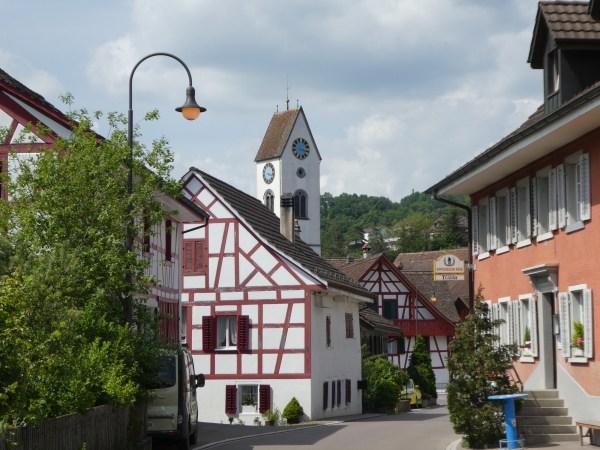 Glattfelden mit Kirche