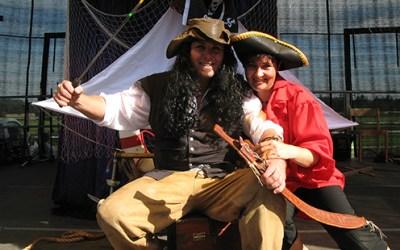 Piratenzauber mit Pirat Dacapo