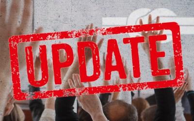 Update GV – News folgen am 10. März 2020!