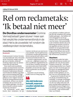 AD Dordrecht; 23-02-18