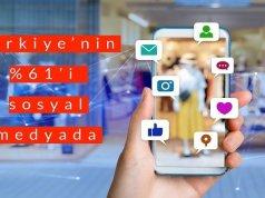 Türkiye'nin %61'i Sosyal Medyada