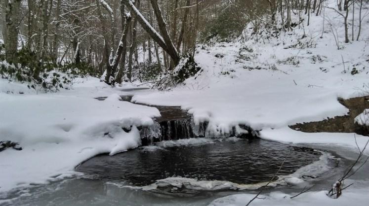 Istranca Dağlarında Kış