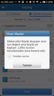 Clean Master Resimleri
