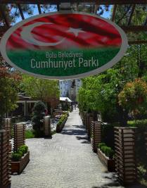 Bolu Belediyesi Cumhuriyet parkı