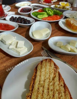 Bolu Berceste Restaurant kahvaltı