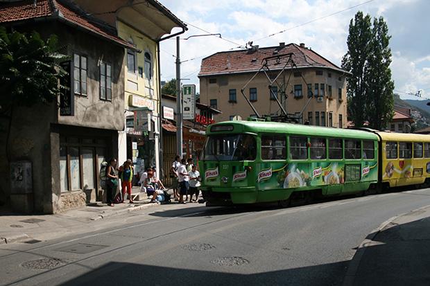 Hostel Ljubicica ve Tramvay Durağı
