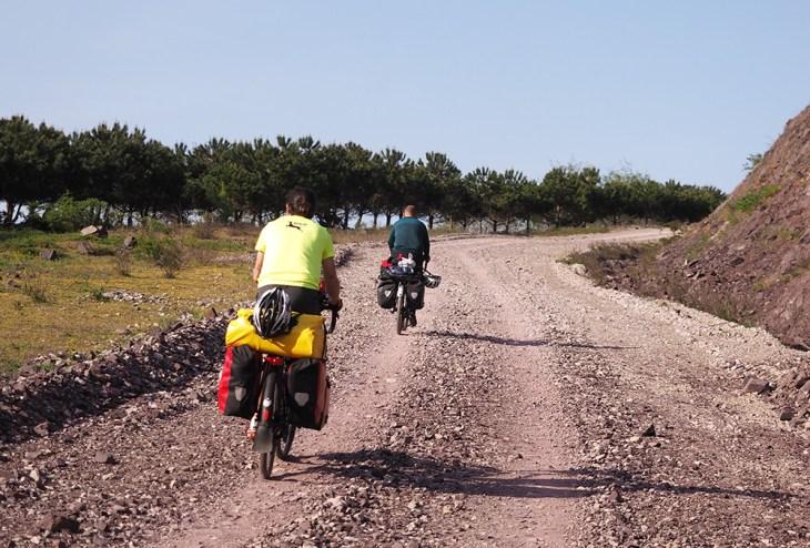 İstanbul'dan kaçış bisiklet rotaları - Darlık Barajı Yolu