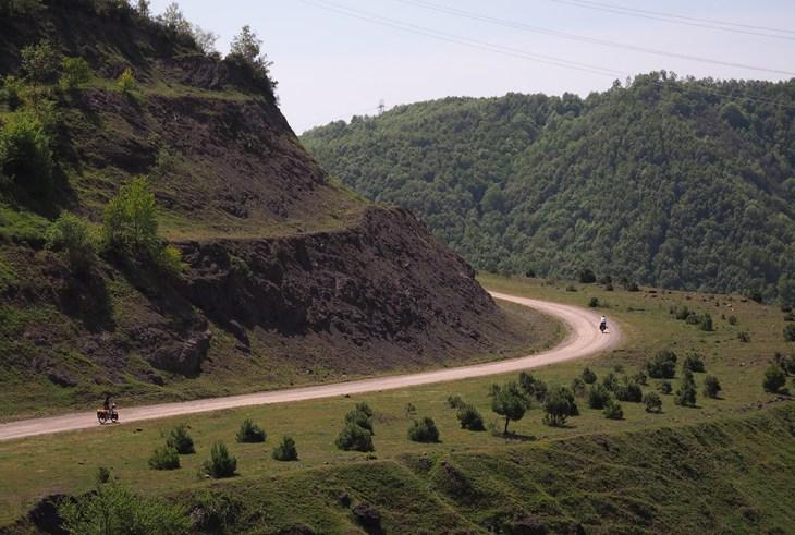 İstanbul'dan kaçış bisiklet rotaları - Darlık Barajı Kamp - Teke Köyü arası