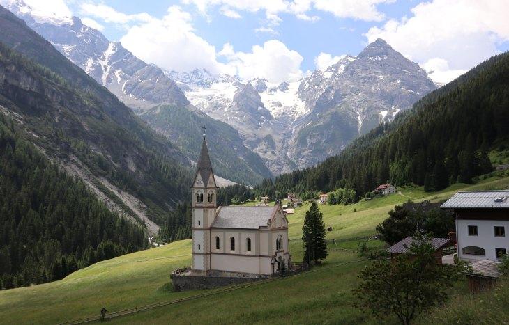 Eşsiz güzelliklere sahip Stelvio Pass