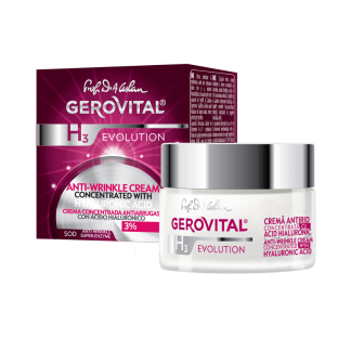 evolution anti-wrinkle cream concentrated with hyaluronic acid