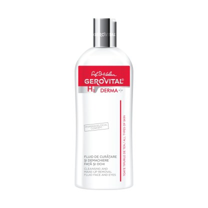 Cleansing and Make-up Removal Fluid Face and Eyes Gerovital