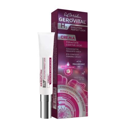 Evolution Eye Contour Firming Cream Hyaluronic ACID Gerovital