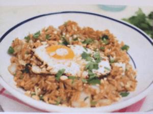 Gezonde nasi met gember
