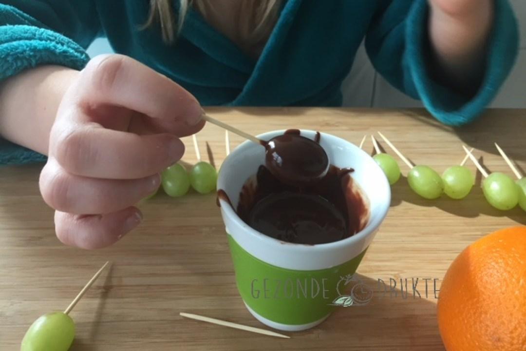 Druiveneitjes gezonde drukte