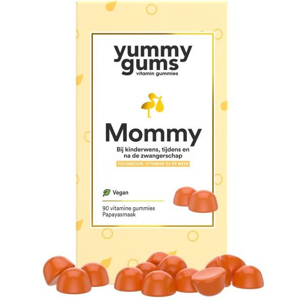 Yummygums - Mommy zwangerschapsvitamine met foliumzuur en vitamine d3
