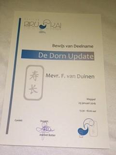 Dorn – een fantastische methode!