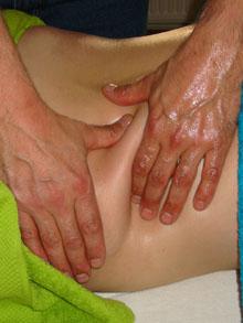 Sportmassage-kneding