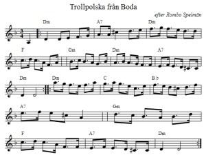 Trollpolska (Noten)