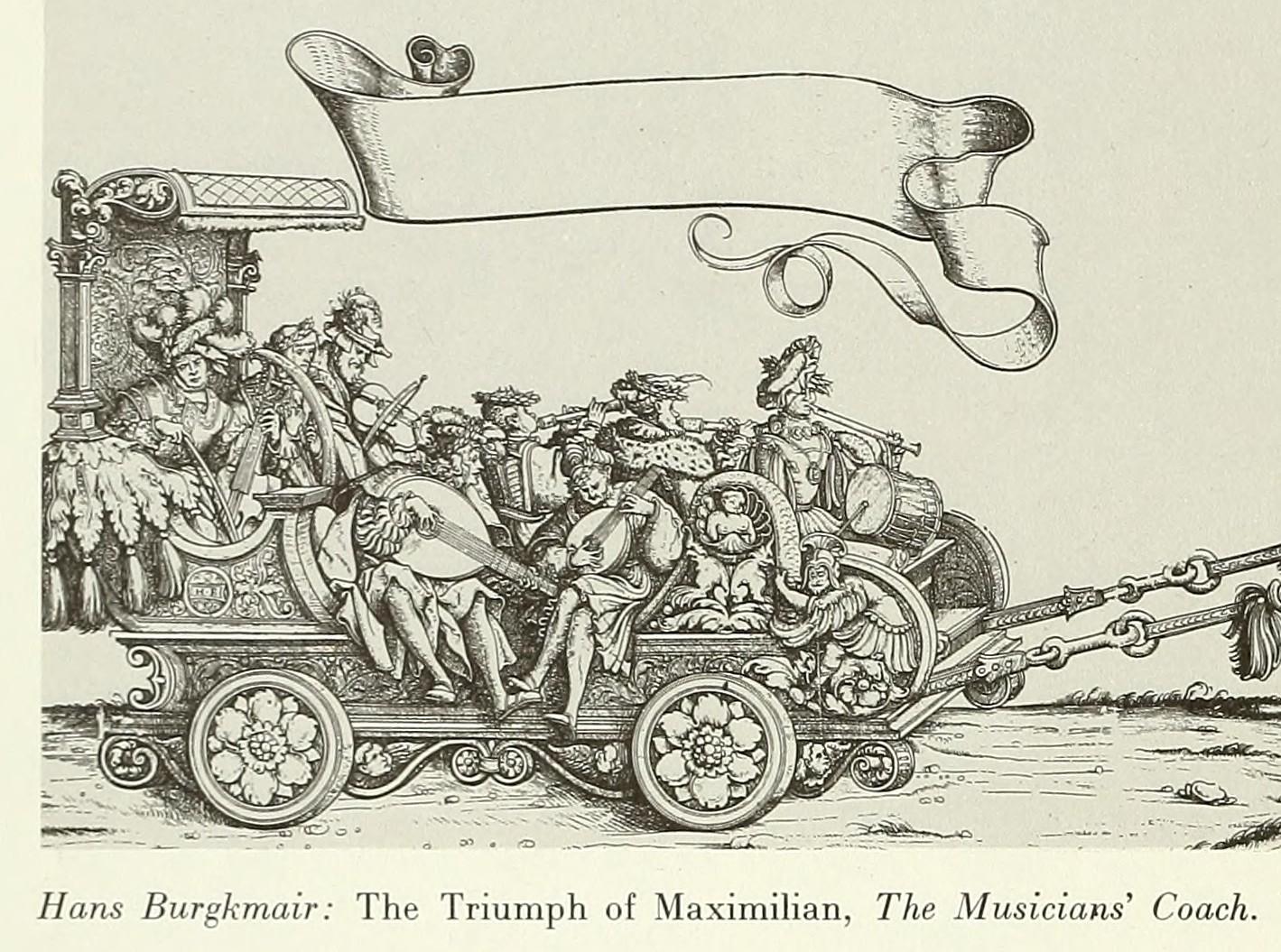 Hans Burgkmair : The Triumph of Maximilian