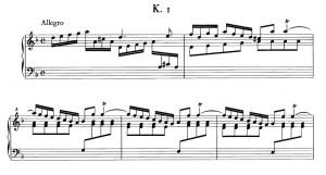 Domenico Scarlatti Sonata K. 1