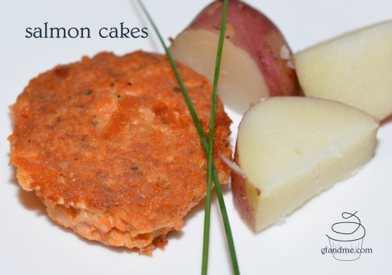 salmon cakes or patties
