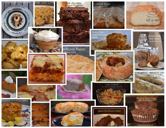 gfandme.com's alphabetical recipe index: links to over 150 gluten free recipes