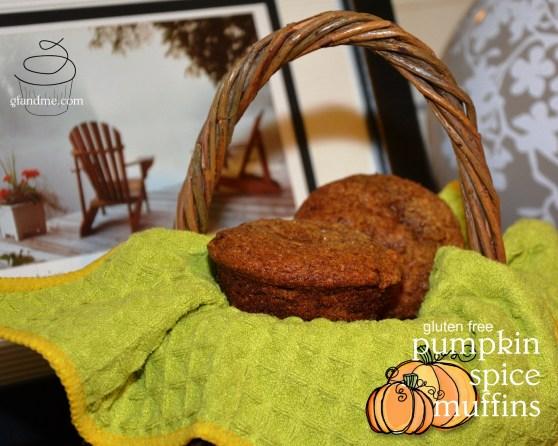 gluten free muffins: pumpkin spice. gfandme.com