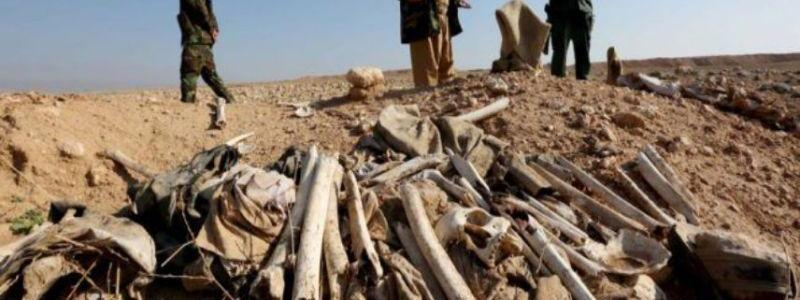 Corpses of 54 people slain by ISIS terrorists found in Kurdistan region