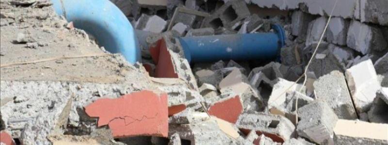 ISIS terrorists destroyed three water pipelines in Kirkuk