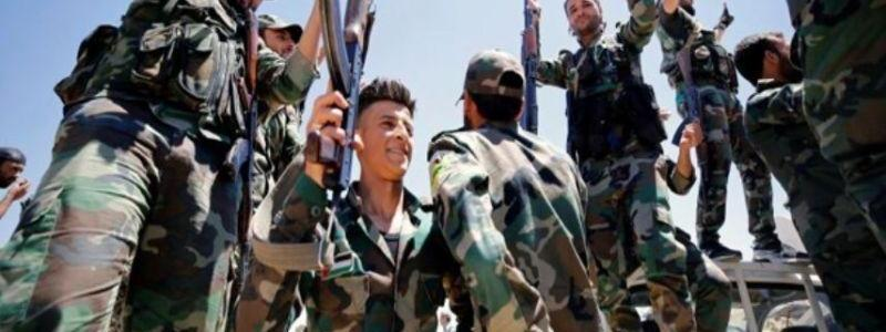 Syrian Army forces drives ISIS terrorists out of more regions in the Sweida deserts
