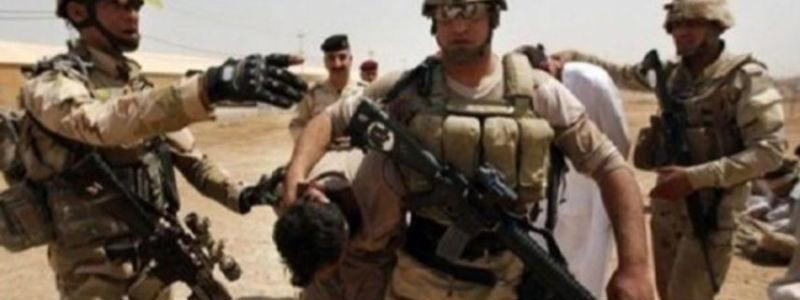 Ten Islamic State terrorists detained in Mosul by the Iraqi army forces