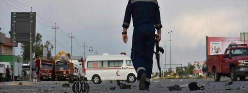 Terrorist attack killed four Iraqis in Kirkuk and Baghdad