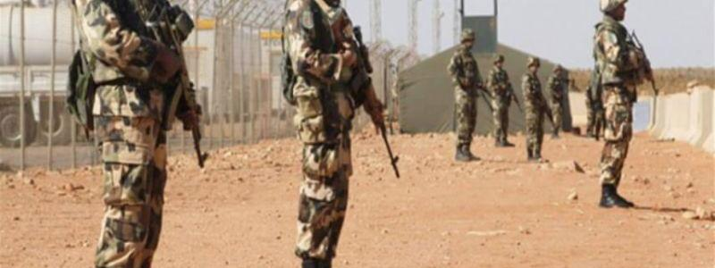 The Algerian army surprises two terrorists and succeeds to capture them
