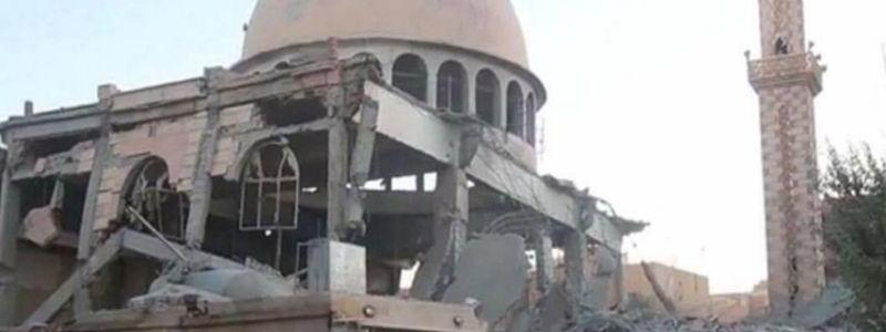 The US-led coalition said that ISIS continue to misuse mosques for terrorist attacks