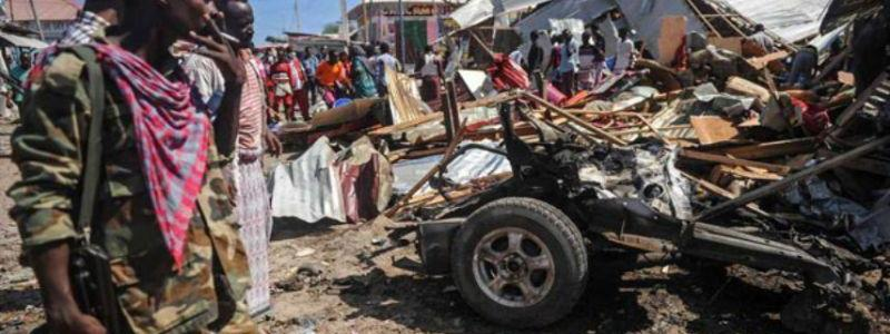 Two people killed and five are wounded in the latest car bombing attack in Mogadishu