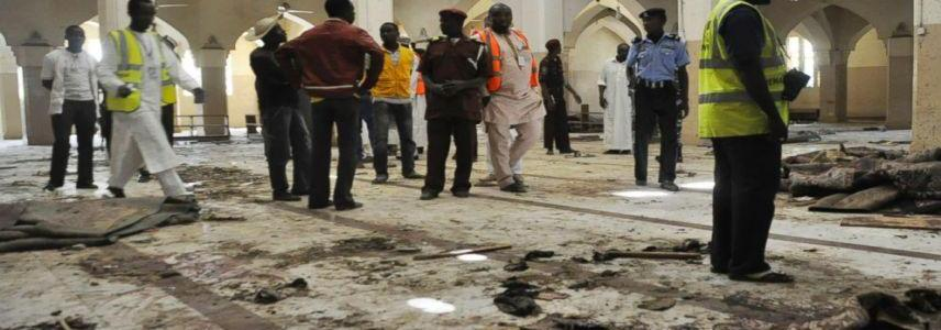 Boko Haram claim responsibility for the suicide attack that killed eight people at Borno mosque