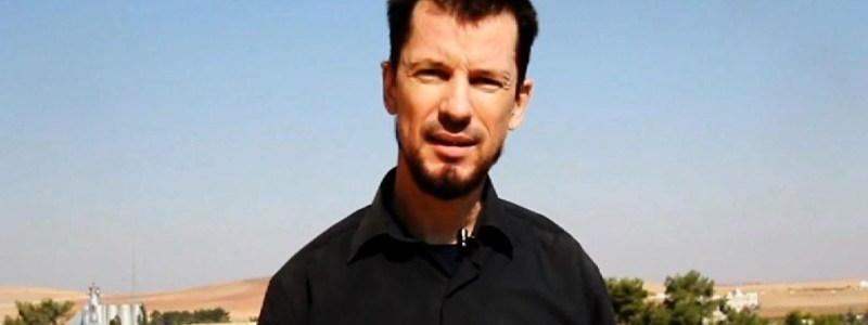 British journalist John Cantlie believed to be alive but still held by ISIS terrorist group