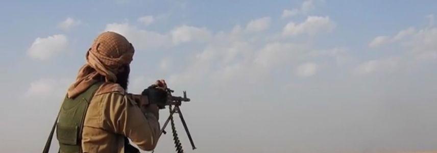 Clashes between Syrian regime and ISIS terrorists in Suwaidaa