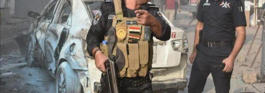 Confrontations break out between security personnel and ISIS terrorists north of Baghdad