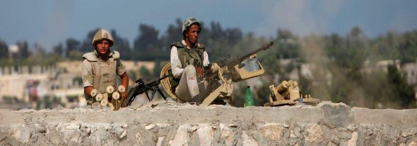 Egyptian forces kill 11 terrorists in Sinai shootout